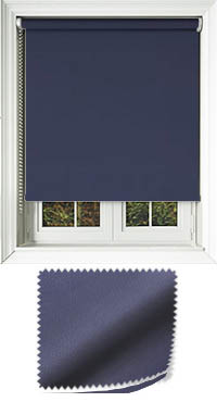 Madre Navy Cordless Roller Blind