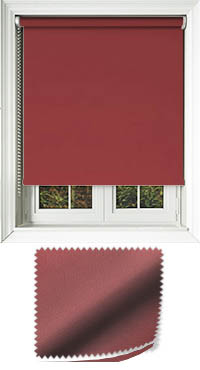 Madre Redcurrant Vertical Blind