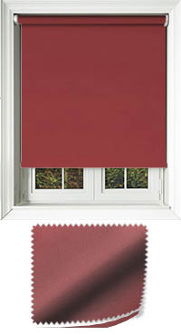 Madre Redcurrant Cordless Roller Blind