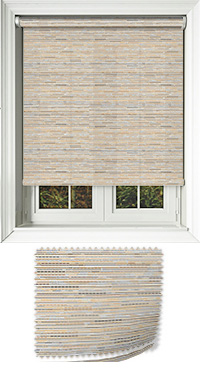 Manasulu Nutmeg Replacement Vertical Blind Slat