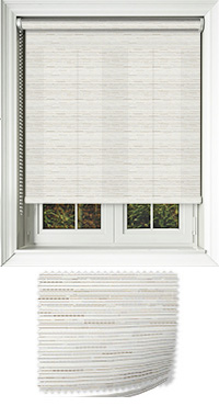Manasulu Peppercorn Bifold Doors Blind