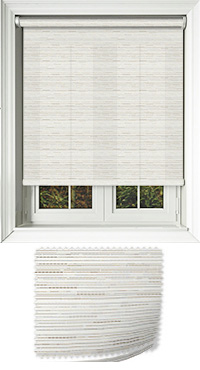 Manasulu Peppercorn Cordless Roller Blind
