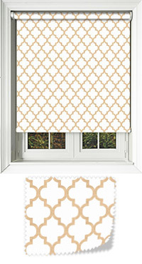 Marrakech Sand Motorised Roller Blind