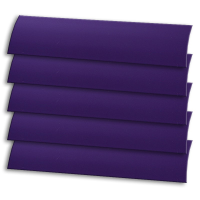 Matt Purple Vertical Blind