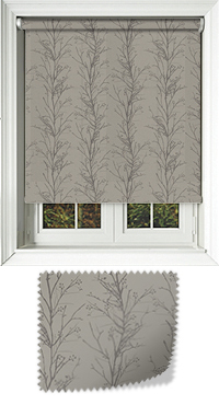 Metallic Branches Shadow Cordless Roller Blind
