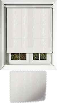 Metallic Branches Vanilla Replacement Vertical Blind Slat