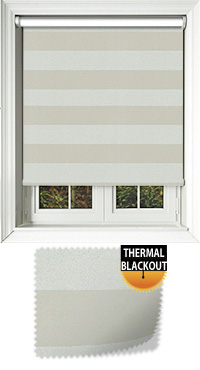 Metallic Stripe Opal Skylight Blind