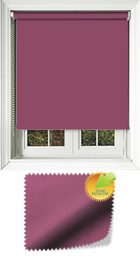 Mirage Solar Aubergine Skylight Blind