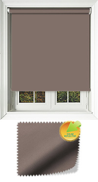 Mirage Solar Brown Vertical Blind