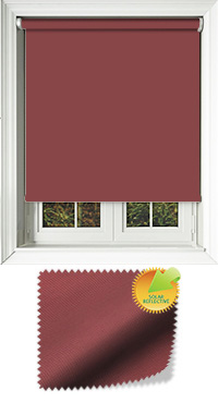 Mirage Solar Cherry Replacement Vertical Blind Slat