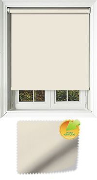 Mirage Solar Cream Cordless Roller Blind