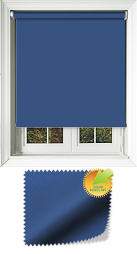 Mirage Solar Dark Blue Replacement Vertical Blind Slat