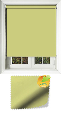 Mirage Solar Fresh Apple Motorised Roller Blind
