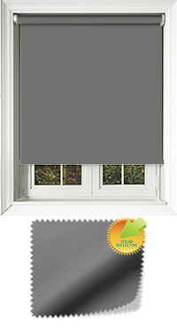 Mirage Solar Grey Cordless Roller Blind