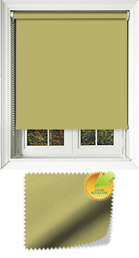 Mirage Solar Lime Bifold Doors Blind
