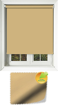 Mirage Solar Muted Gold Roller Blind
