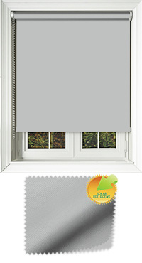 Mirage Solar Silver Replacement Vertical Blind Slat