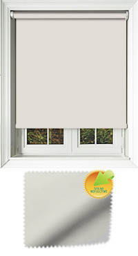 Mirage Solar Stone Motorised Roller Blind