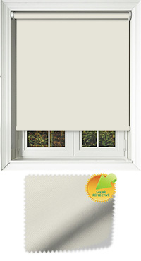 Mirage Solar Vanilla Replacement Vertical Blind Slat