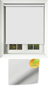 Mirage Solar White Roller Blind