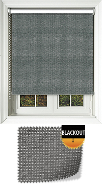 Montana Graphite Wooden Blind