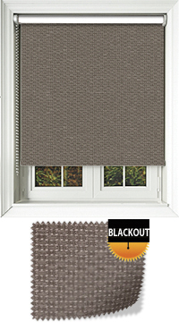 Montana Mocca Cordless Roller Blind