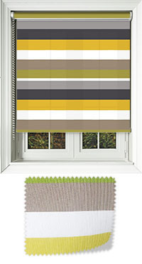 Striped Roller Blinds Pinstripe Bold Amp Funky Stripes