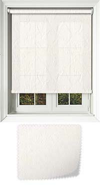 Montreal Cream Cordless Roller Blind