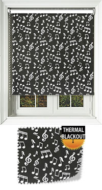Musicality Vertical Blind