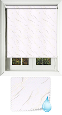 Negev White Replacement Vertical Blind Slat