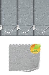 Nordic Solar Silver Vertical Blind