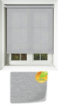 Nordic Solar Silver Replacement Vertical Blind Slat