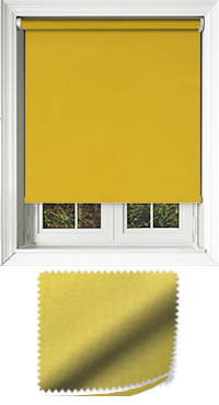 Nova Turmeric Replacement Vertical Blind Slat