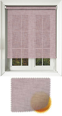 Sheer Grain Elderberry Roller Blind