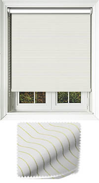 Orchestra Green Vertical Blind