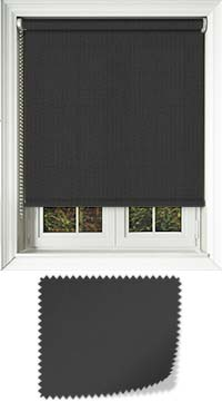 Origin Black Bifold Doors Blind