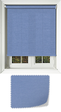 Origin Blue Wooden Blind