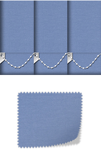 Origin Blue Vertical Blind