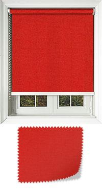 Origin Bright Red With White Bottom Bar