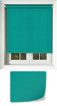 Origin Bright Turquoise Skylight Blind
