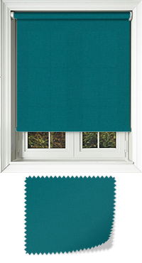 Origin Deep Aqua Replacement Vertical Blind Slat