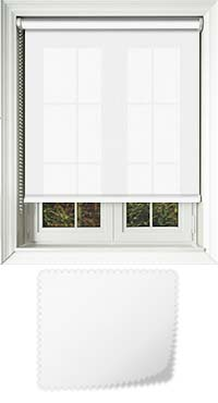 Origin Delicate White Vertical Blind