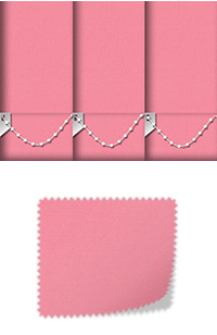 Origin Girly Pink Cordless Roller Blind