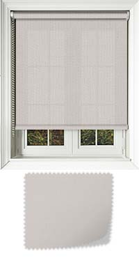 Origin Grey White Vertical Blind