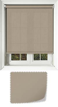 Origin Hessian Skylight Blind