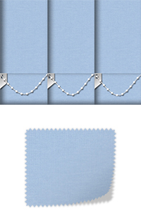 Origin Light Blue Roller Blind