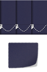 Origin Navy Replacement Vertical Blind Slat