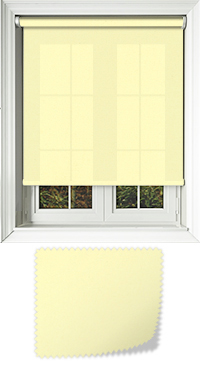 Origin Powder Lemon Roller Blind