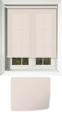 Origin Powder Pink Motorised Roller Blind