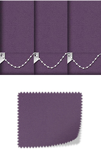 Origin Purple Replacement Vertical Blind Slat